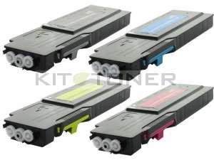Xerox 106R02232, 106R02230, 106R02231, 106R02229 - Pack de 4 toners compatibles 4 couleurs