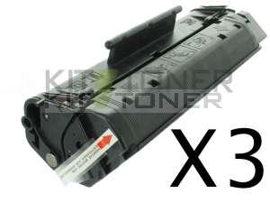 Canon 1557A003 - Pack de 3 cartouches de toner compatibles FX3