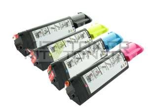 Epson S050316, S050317, S050318, S050319 - Pack de 4 toners compatibles 4 couleurs