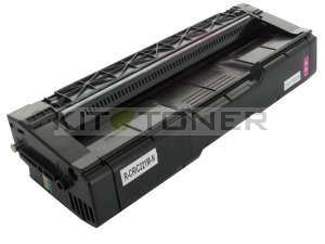 Ricoh 406054 220 - Cartouche toner compatible magenta