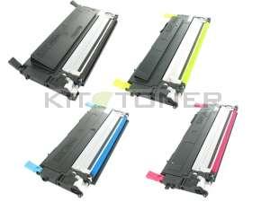 Samsung CLTK4092S, CLTM4092S, CLTY4092S, CLTC4092S - Pack de 4 cartouches remanufacturées 4 couleurs