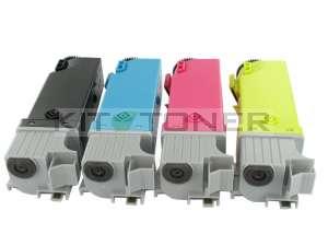 Xerox 106R01334, 106R01332, 106R01333, 106R01331 - Pack de 4 toners compatibles 4 couleurs