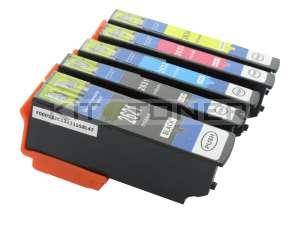 Epson C13T26364010 - Pack de 5 cartouches d'encre compatibles