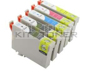 Epson C13T07154011 - Pack de 5 cartouches d'encre compatibles