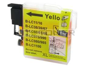 Brother LC980Y - Cartouche d'encre compatible jaune