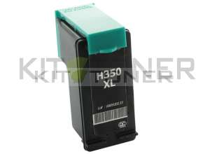 HP CB336EE - Cartouche d'encre compatible noire 350XL