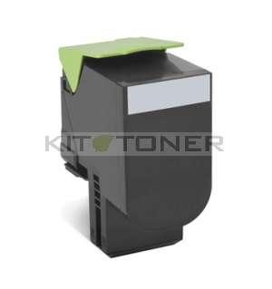 Lexmark 70C2HK0 - Cartouche toner compatible noir