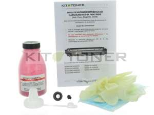 Brother TN246M - Kit de recharge toner compatible magenta