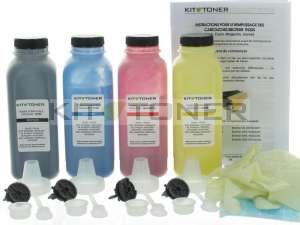 Brother série TN326, TN321 - Kit de recharge toner compatible 4 couleurs