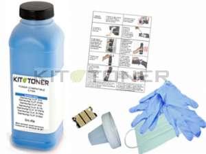Epson S050613 - Kit de recharge toner compatible cyan