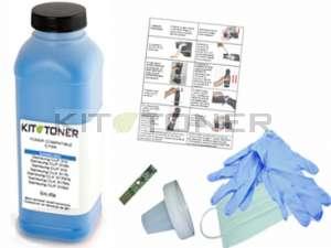 Epson S050629 - Kit de recharge toner compatible cyan