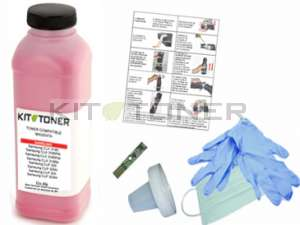 Epson S050628 - Kit de recharge toner compatible magenta