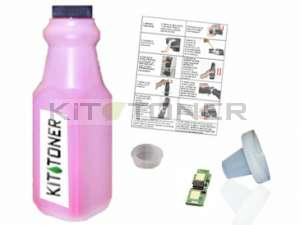 Konica 1710589006 - Kit de recharge toner compatible Magenta