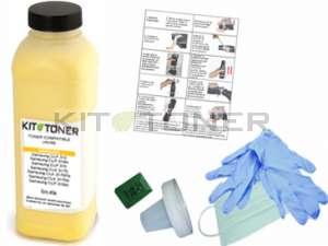 Oki 44469704 - Kit de recharge toner jaune compatible