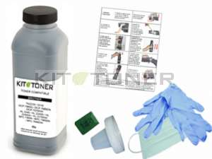 Oki 43865724 - Kit de recharge toner compatible Noir