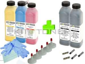 Samsung CLTP4072C - Pack de 5 kits de recharge toner compatibles