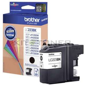 Brother LC223BK - Cartouche d'encre noire LC223BK