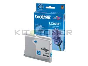Brother LC970C - Cartouche d'encre d'origine cyan
