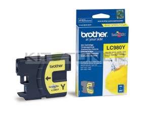 Brother LC980Y - Cartouche d'encre d'origine jaune