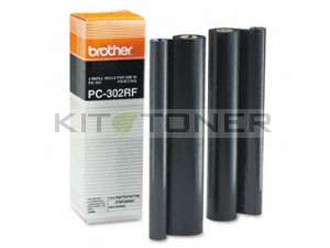 Brother PC302RF - Pack de 2 rubans d'impression d'origine