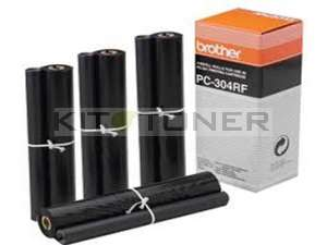 Brother PC304RF - Pack de 4 rubans d'impression d'origine