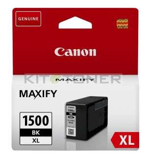 Canon PGI1500XLBK - Cartouche encre origine noire 9182B001