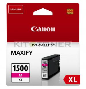 Canon PGI1500XLM - Cartouche encre origine magenta 9182B003