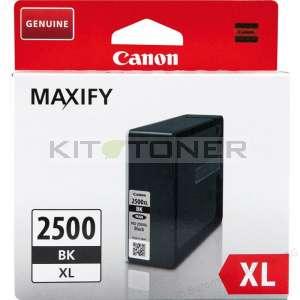 Canon PGI2500XLBK - Cartouche encre origine noire 9254B001