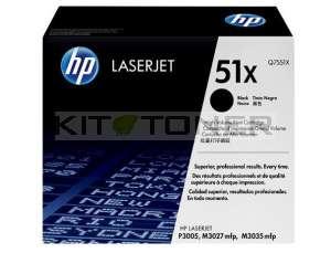 HP Q7551X - Cartouche de toner d'origine 51X