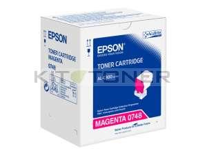 Epson S050748 - Cartouche toner magenta d'origine
