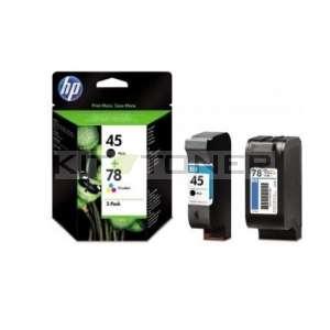 HP SA308A - Pack combo de 2 cartouches d'encre de marque