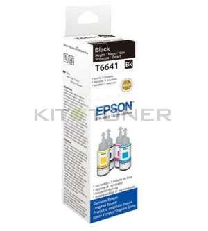 Epson T6641 - Recharge d'encre noire originale