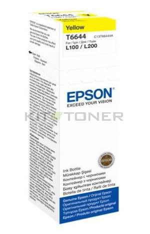 Epson T6644 - Recharge d'encre jaune originale
