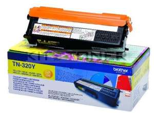 Brother TN320Y - Cartouche toner jaune TN320Y