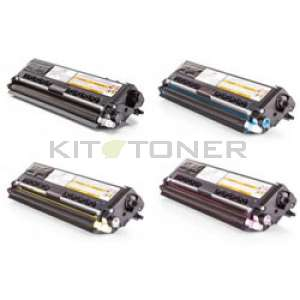 Brother TN910 - Pack de 4 cartouches de toner compatibles