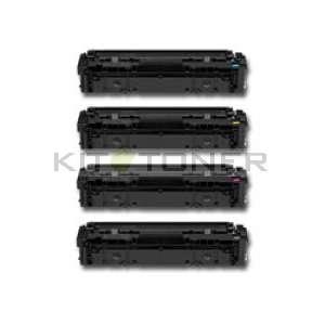 HP 205A - Pack de 4 cartouches de toner compatibles 205A