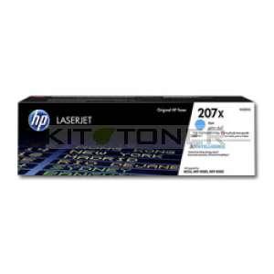 HP 207X - Toner cyan de marque 207X