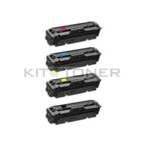 HP 415A - Pack de 4 toners remanufacturés