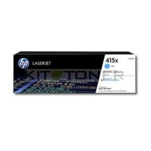 HP 415X - Toner cyan de marque W2031X