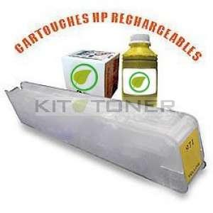 HP 973 - Kit cartouche rechargeable compatible jaune