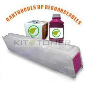 HP 973 - Kit cartouche rechargeable compatible magenta