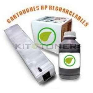 HP 973 - Kit cartouche rechargeable compatible noire
