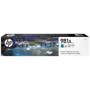 HP 981A - Cartouche d'encre cyan de marque 981A