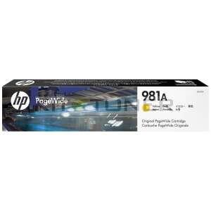 HP 981A - Cartouche d'encre jaune de marque 981A