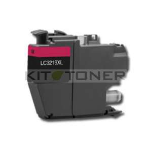 Brother LC3219XLM - Cartouche encre magenta compatible Brother LC3219XLM