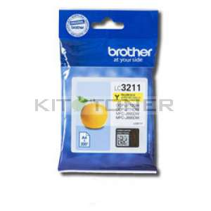 Brother LC3211Y - Cartouche d'encre Jaune origine Brother LC3211Y
