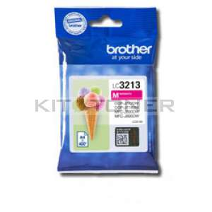 Brother LC3213M - Cartouche d'encre magenta origine Brother LC3213M
