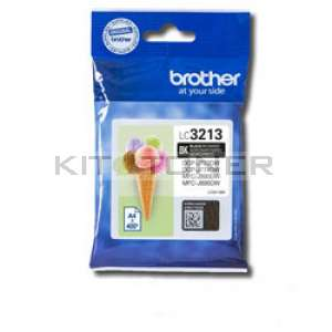 Brother LC3213BK - Cartouche d'encre noire origine Brother LC3213BK