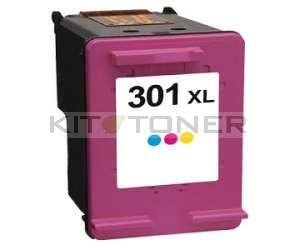 HP 301XL - Cartouche encre compatible couleur HP CH564EE