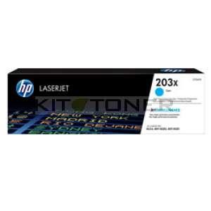 HP 203X - Toner cyan de marque 203X